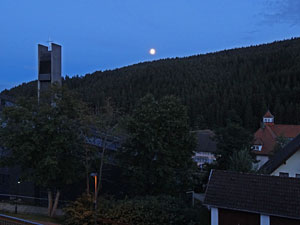 Vollmond in Tennenbronn