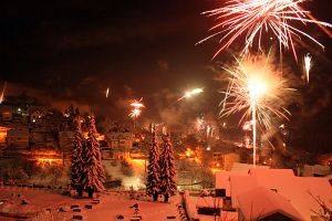 Silvester 2014 in Tennenbronn