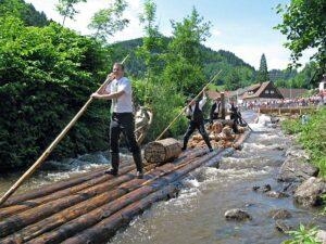 Die Flößer im Schwarzwald